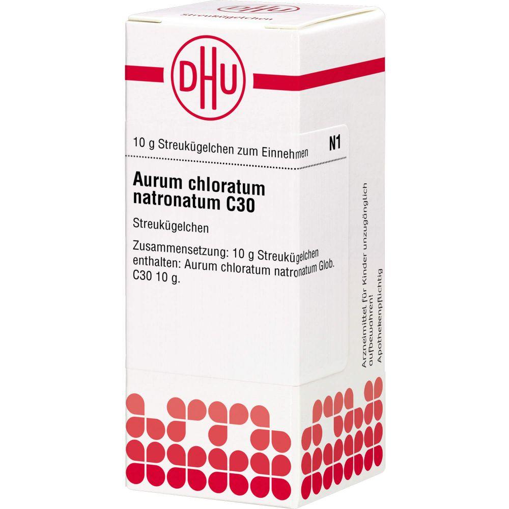 AURUM CHLORATUM NATRONATUM C 30 Globuli