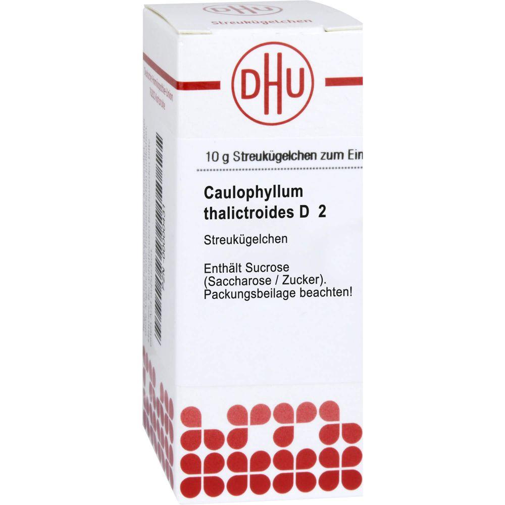 CAULOPHYLLUM THALICTROIDES D 2 Globuli