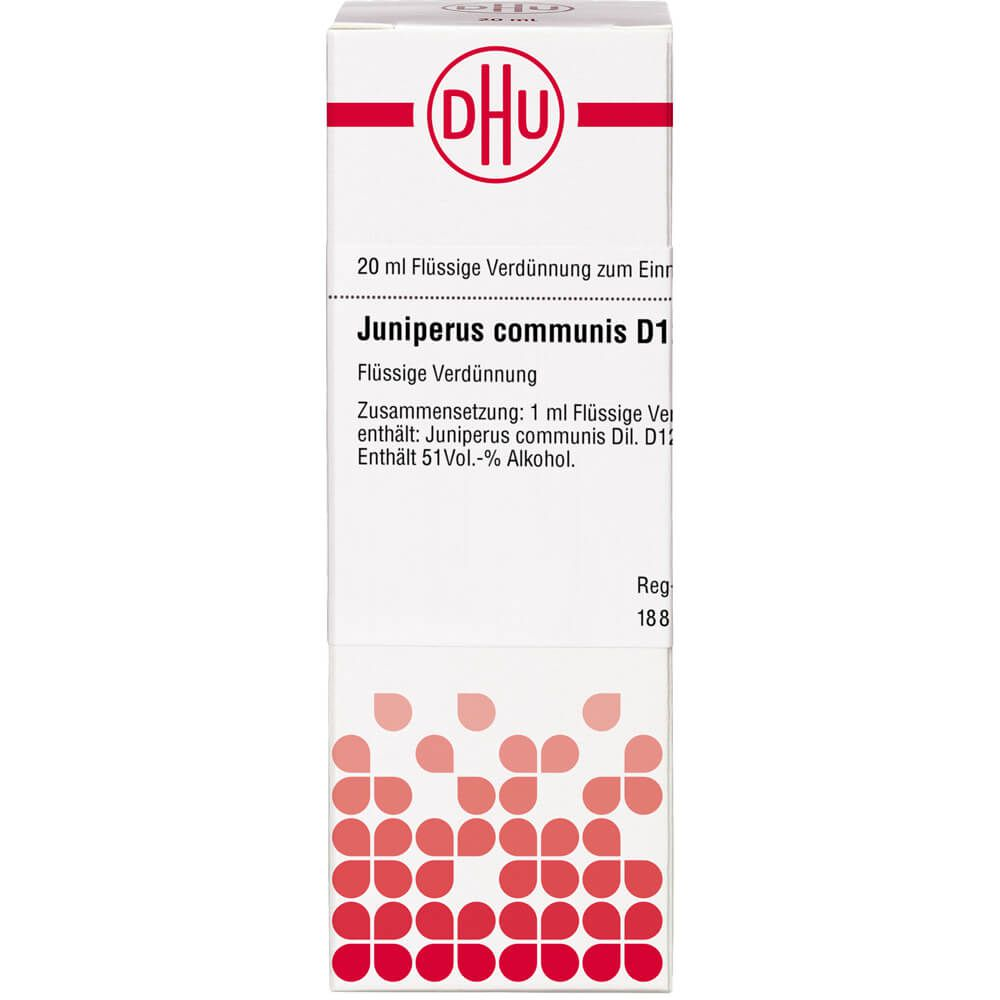 JUNIPERUS COMMUNIS D 12 Dilution