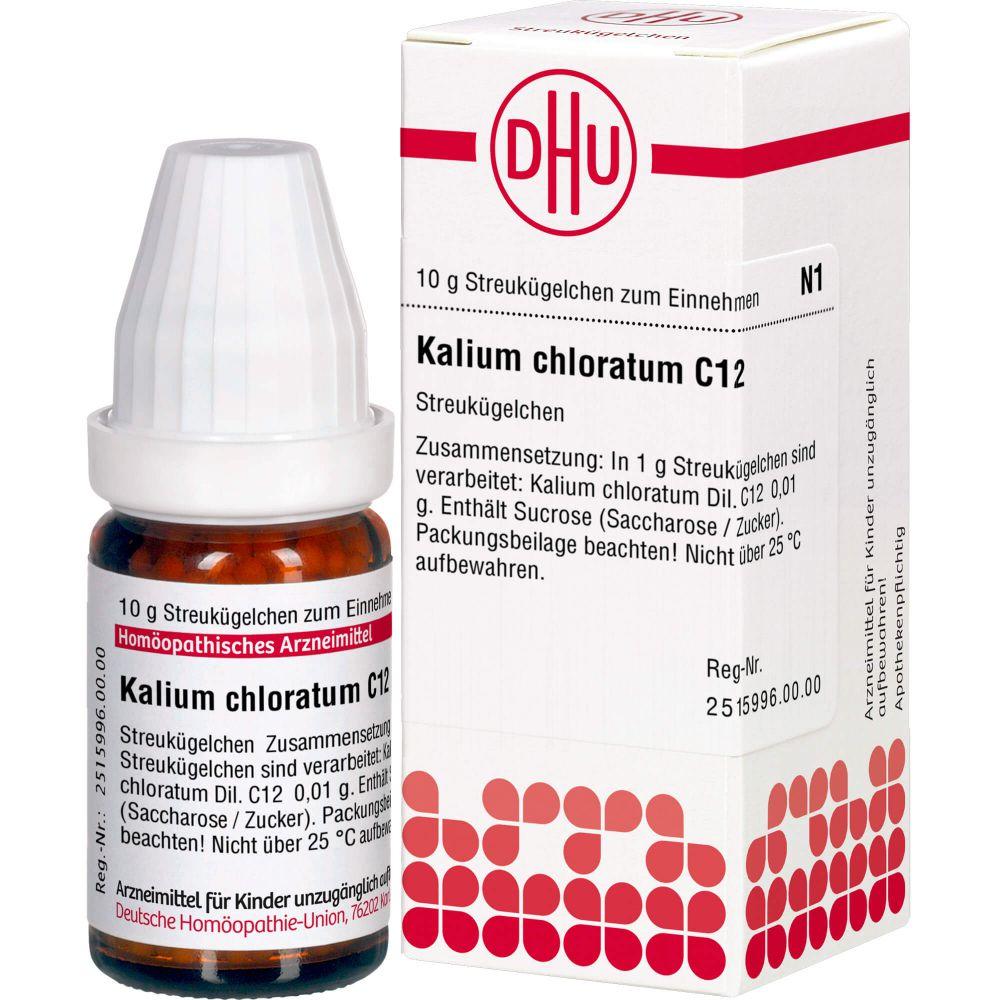 KALIUM CHLORATUM C 12 Globuli