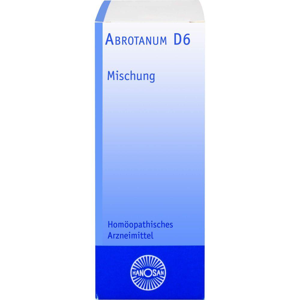 ABROTANUM D 6 Hanosan Dilution