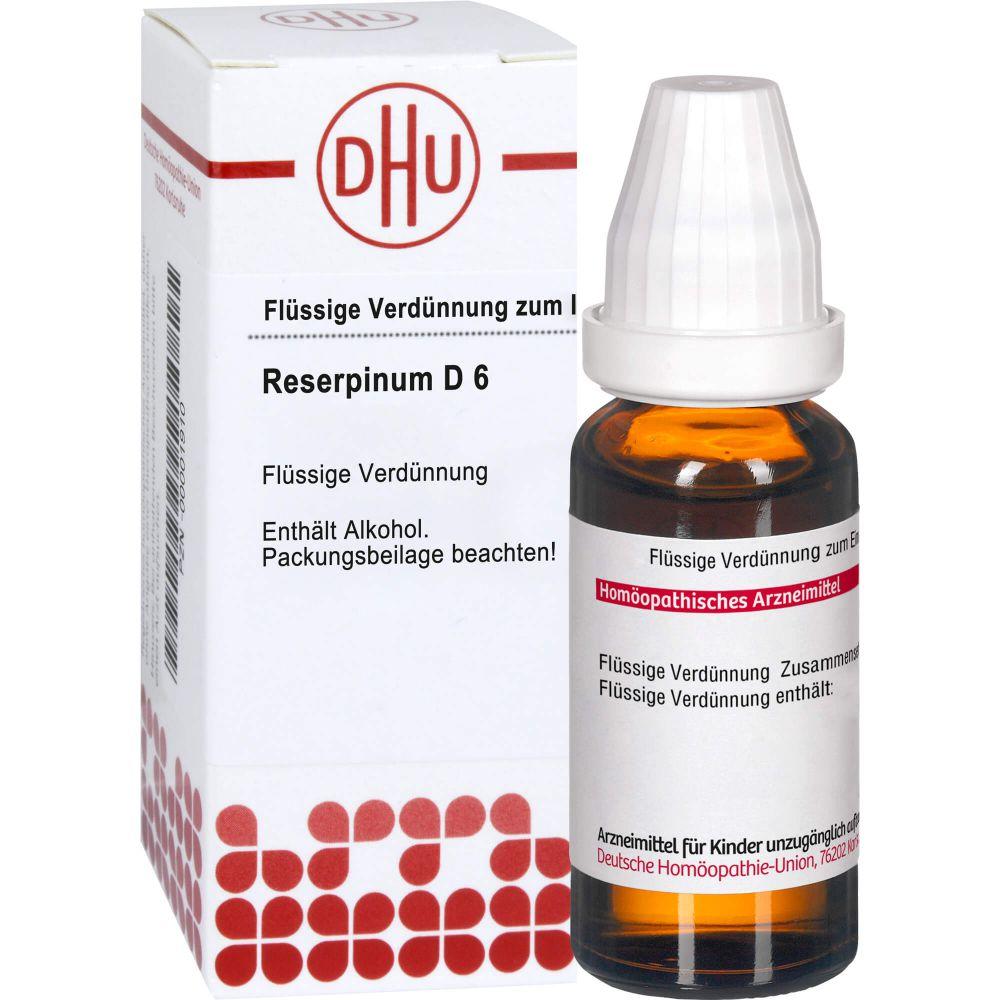 RESERPINUM D 6 Dilution