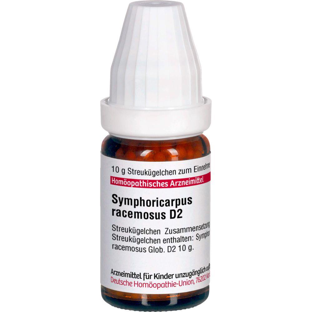 SYMPHORICARPUS racemosus D 2 Globuli