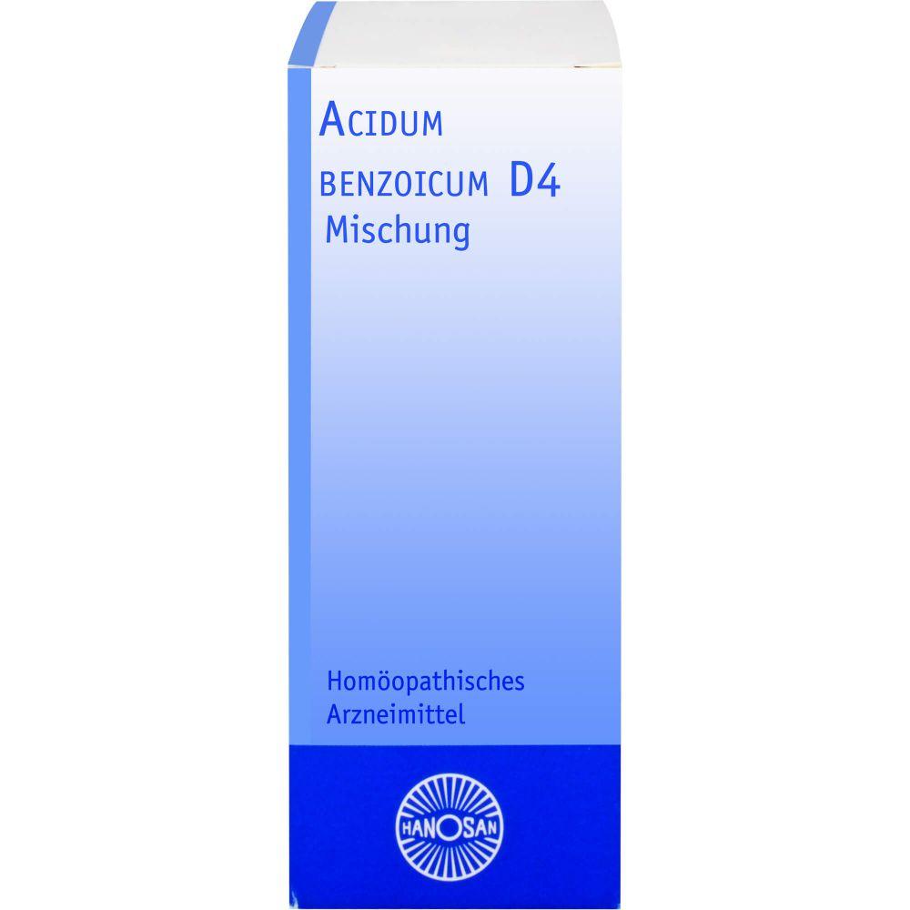ACIDUM BENZOICUM D 4 Hanosan Dilution