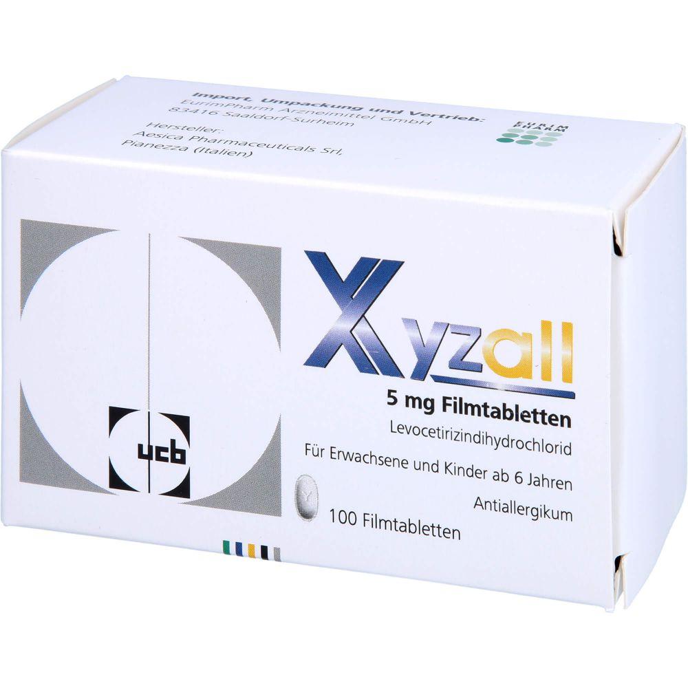 XYZALL 5 mg Filmtabletten