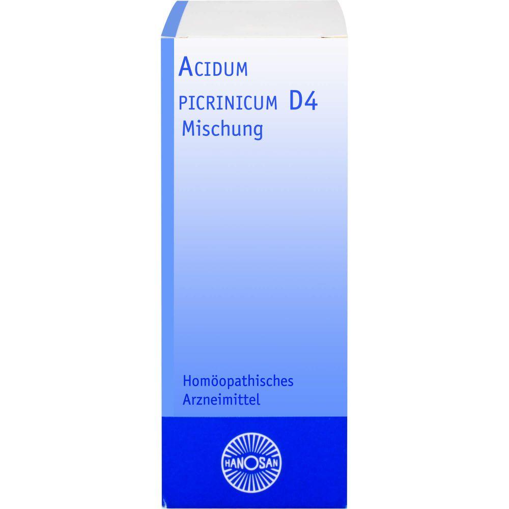 ACIDUM PICRINICUM D 4 Dilution