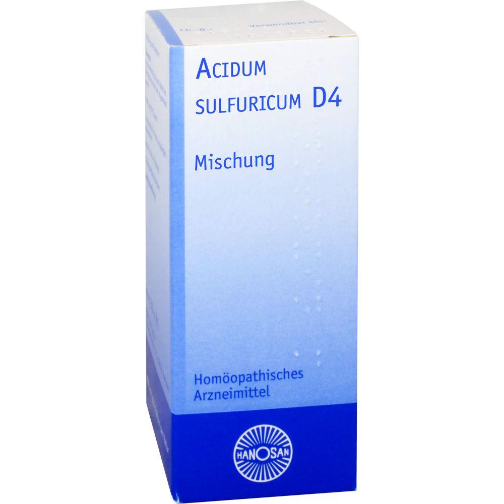 ACIDUM SULFURICUM D 4 Dilution