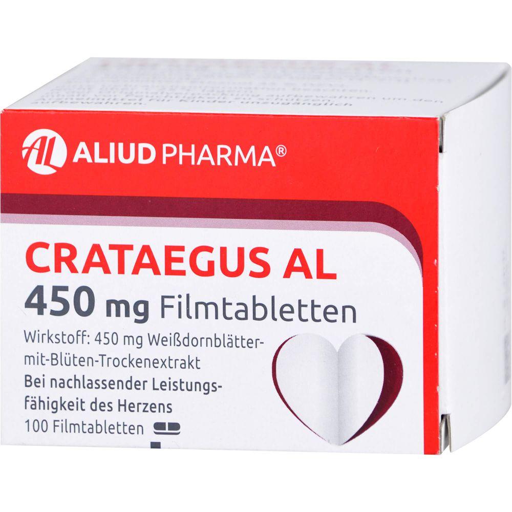 CRATAEGUS AL 450 mg Filmtabletten