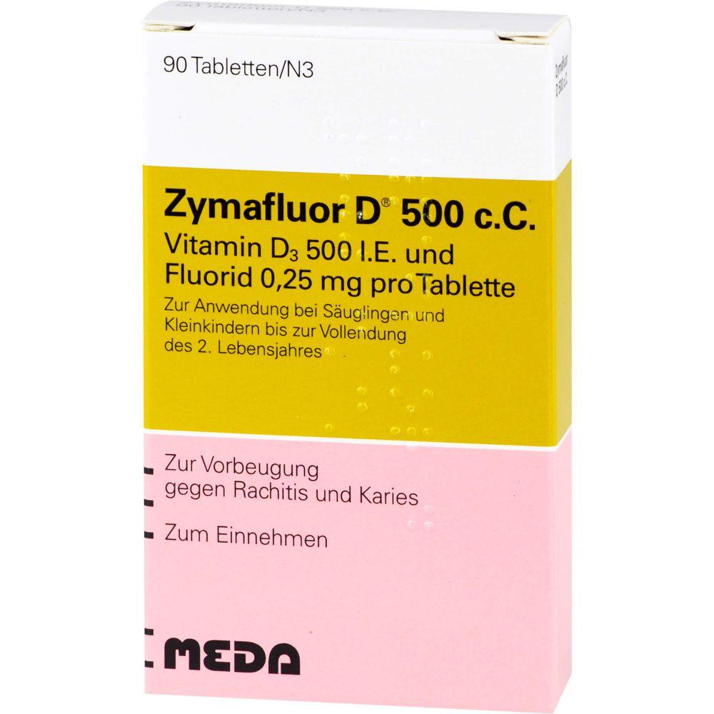 ZYMAFLUOR D 500 C C Tabletten