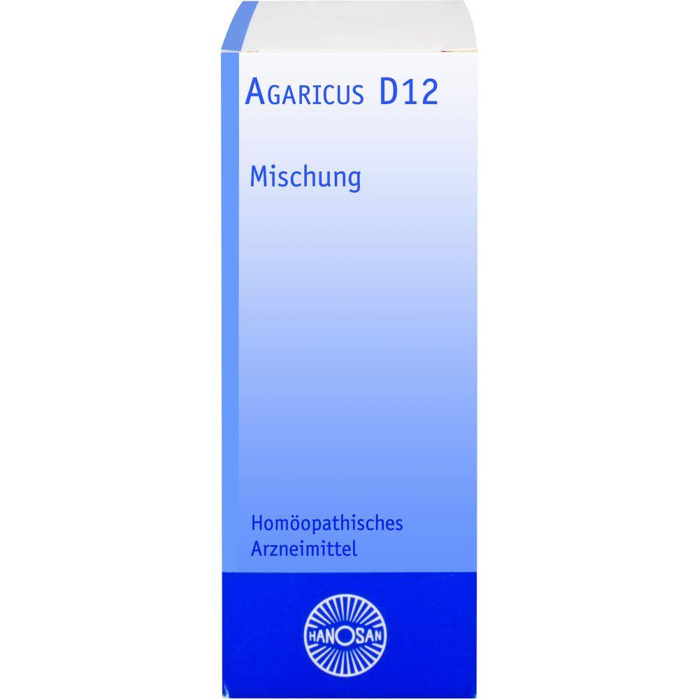 AGARICUS D 12 Dilution