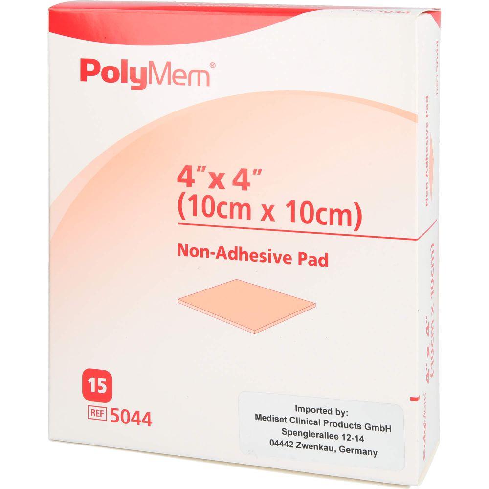 POLYMEM Wund Pad n.klebend 10x10 cm