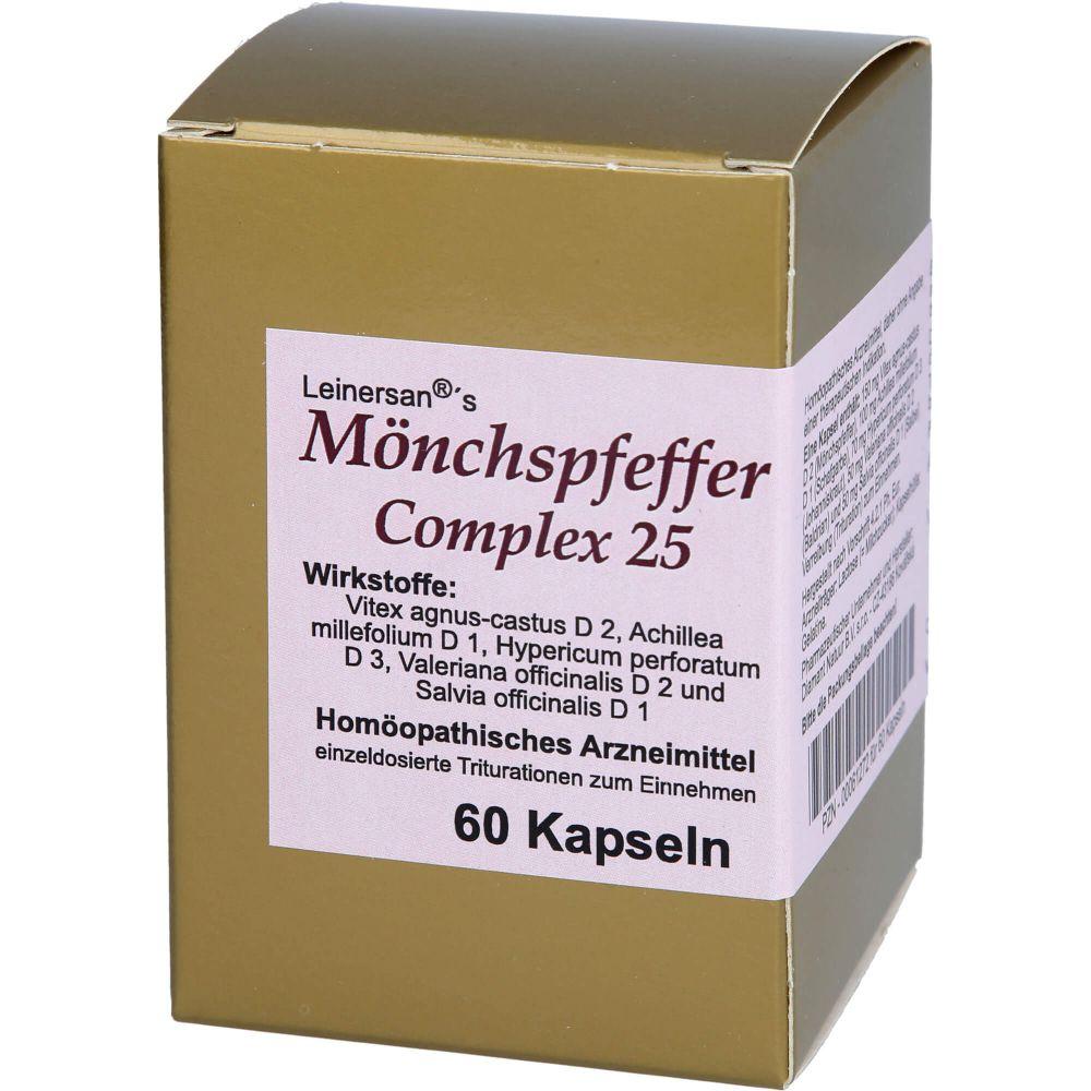 MÖNCHSPFEFFER COMPLEX 25 Leinersan Kapseln