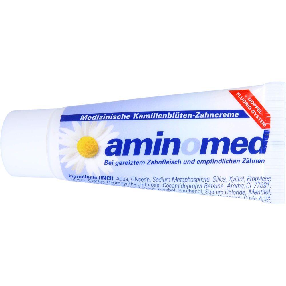 AMIN O MED Fluorid Kamille Zahncreme