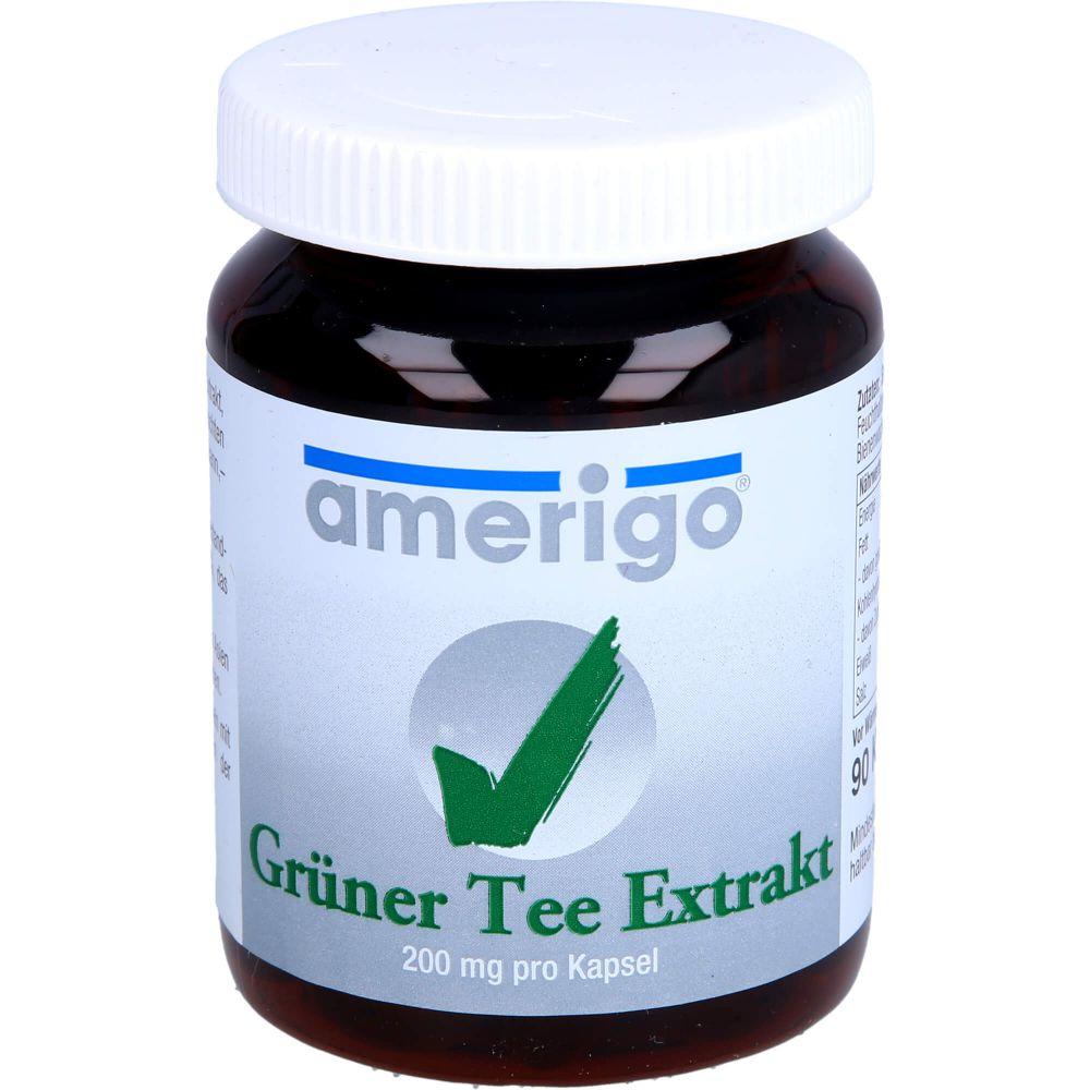 GRÜNER TEE Extrakt amerigo 200 mg Kapseln