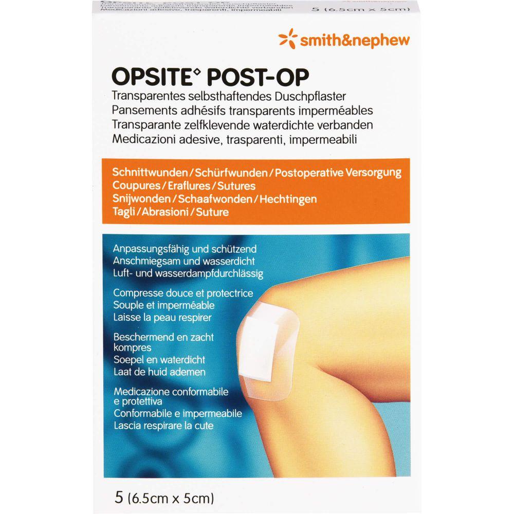 OPSITE Post-OP 5x6,5 cm Verband
