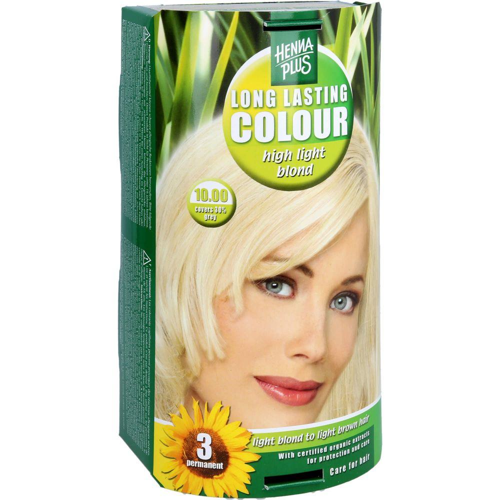 HENNAPLUS Long Lasting high light blond 10,0