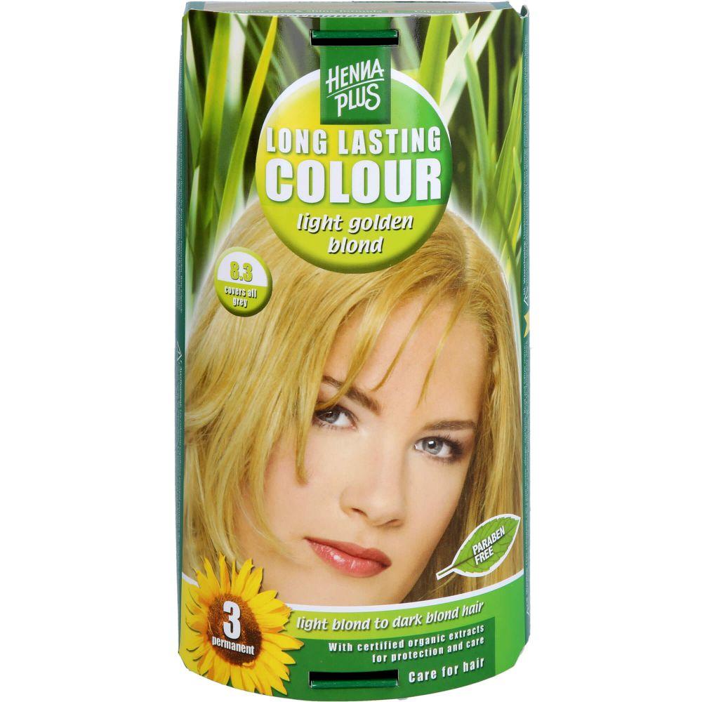 HENNAPLUS Long Lasting light golden blond 8,3
