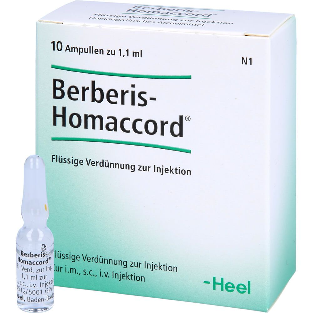 BERBERIS HOMACCORD Ampullen