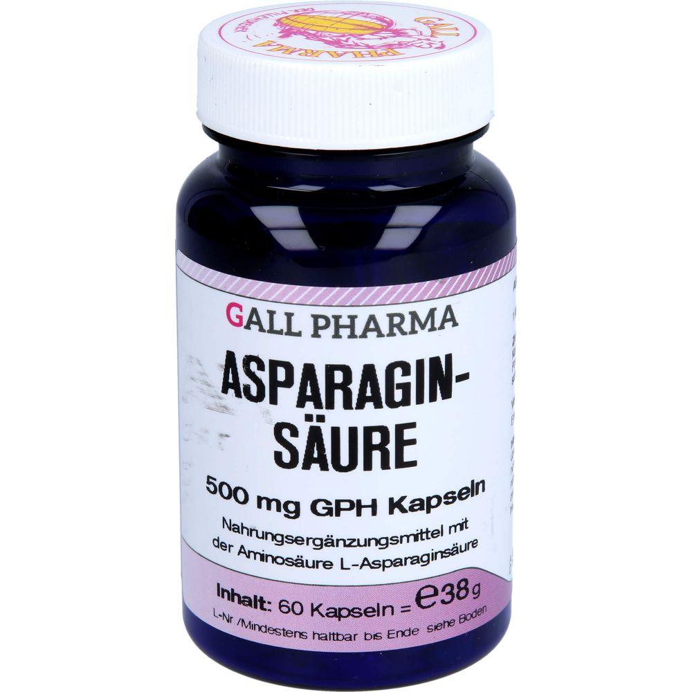 ASPARAGINSÄURE 500 mg GPH Kapseln