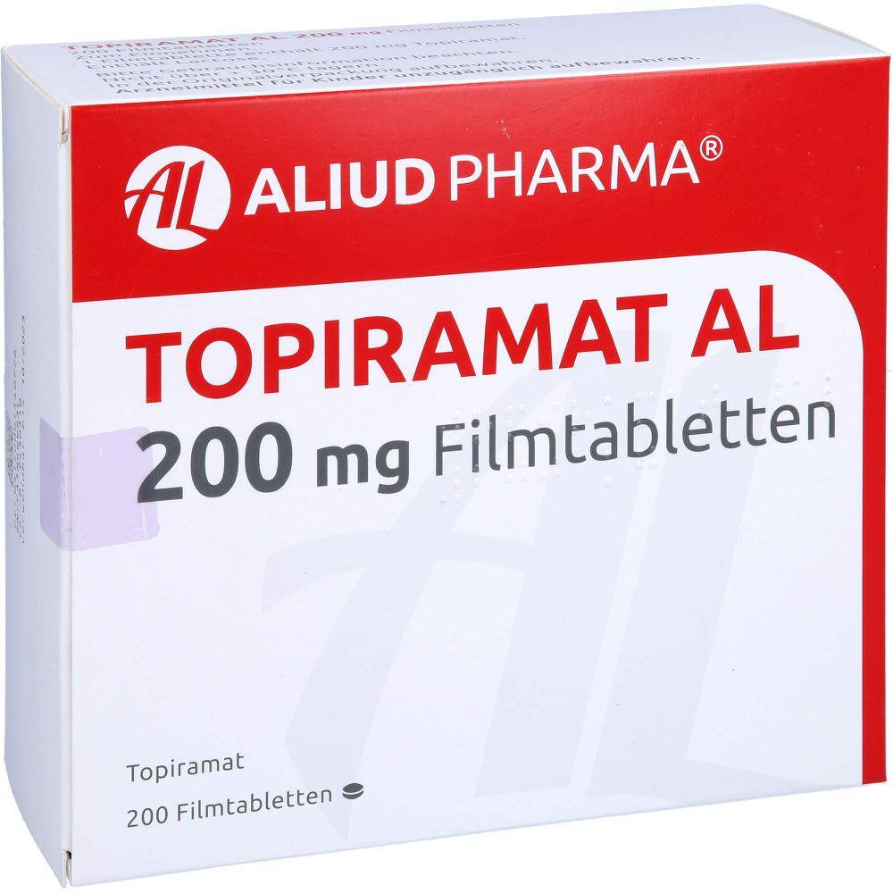 TOPIRAMAT AL 200 mg Filmtabletten