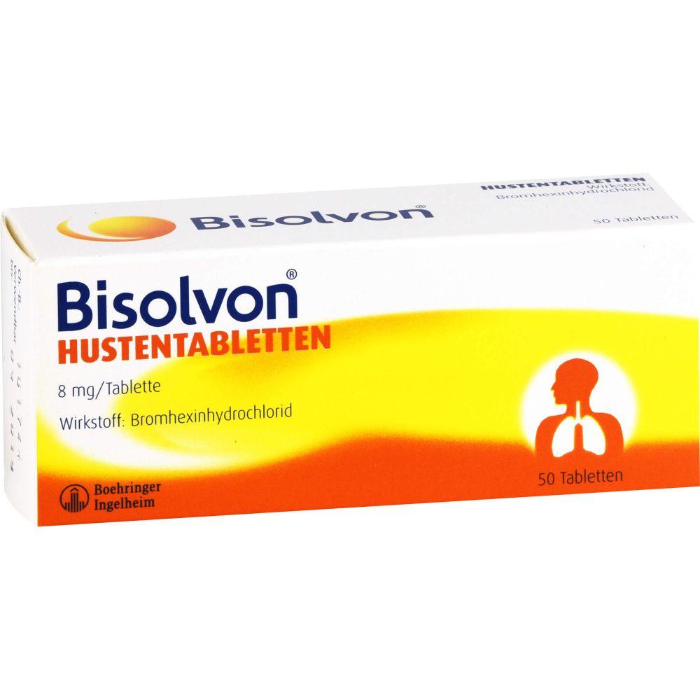 BISOLVON Hustentabletten 8 mg