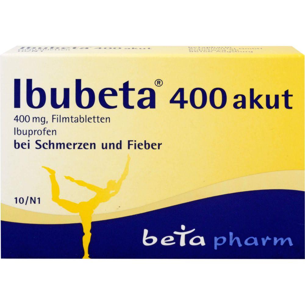 IBUBETA 400 akut Filmtabletten