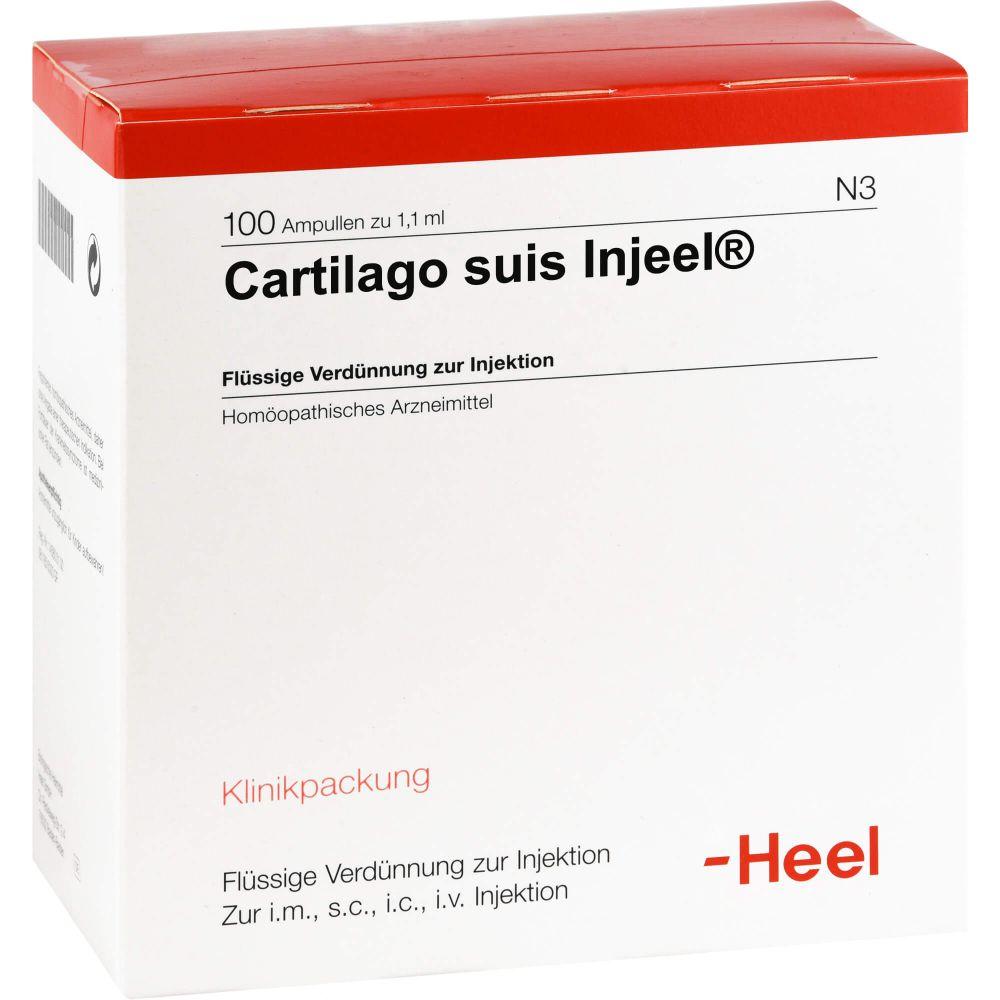 CARTILAGO suis Injeel Ampullen
