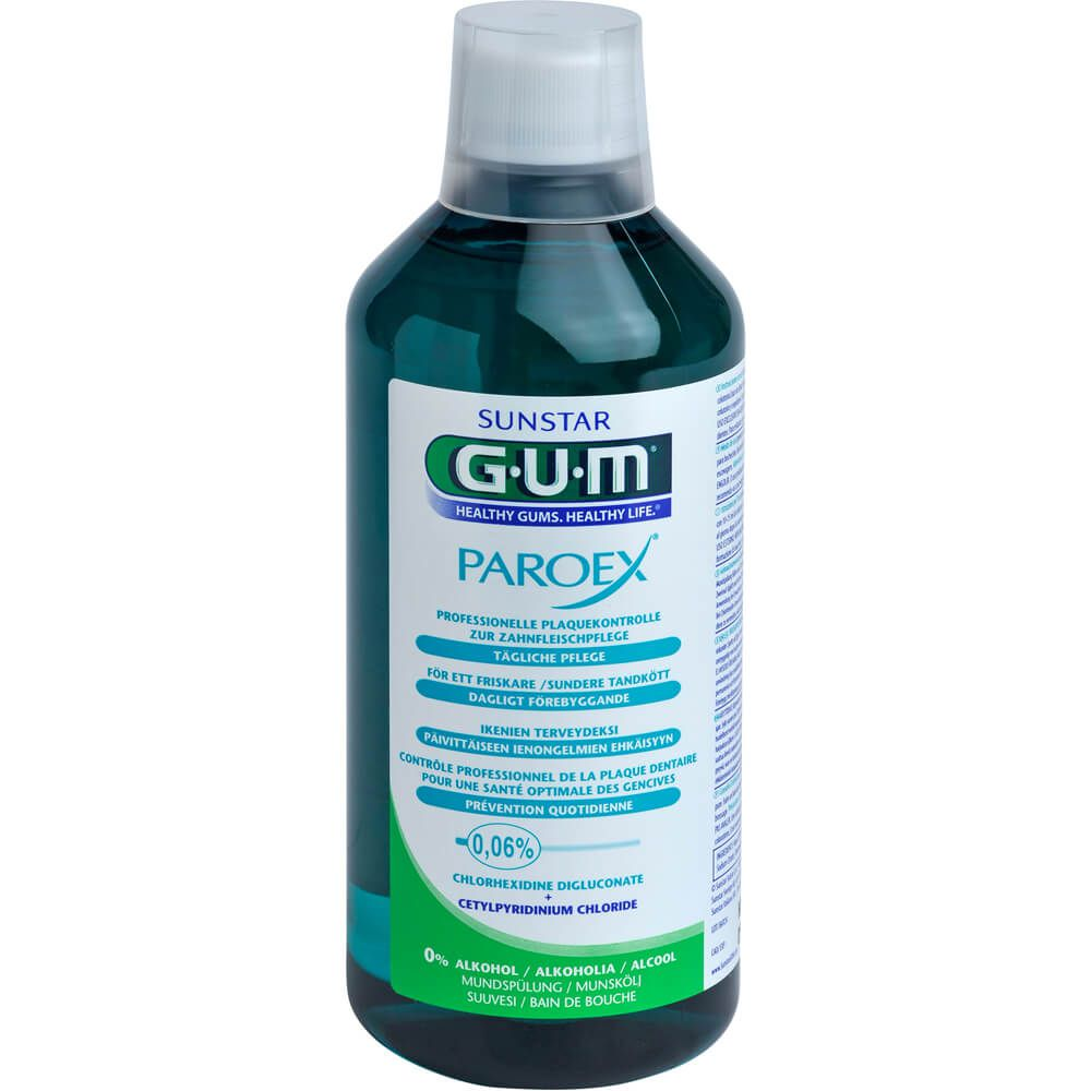 GUM Paroex 0,06% CHX Mundspülung