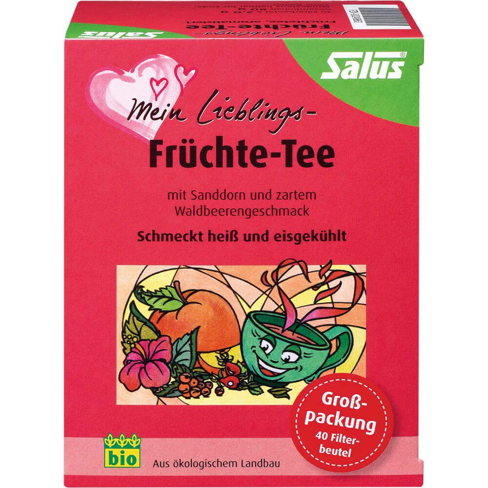 MEIN LIEBLINGS-Früchte-Tee Bio Salus Filterbeutel