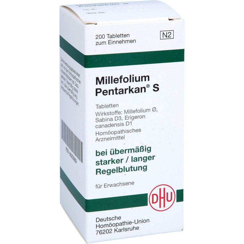 MILLEFOLIUM PENTARKAN S Tabletten