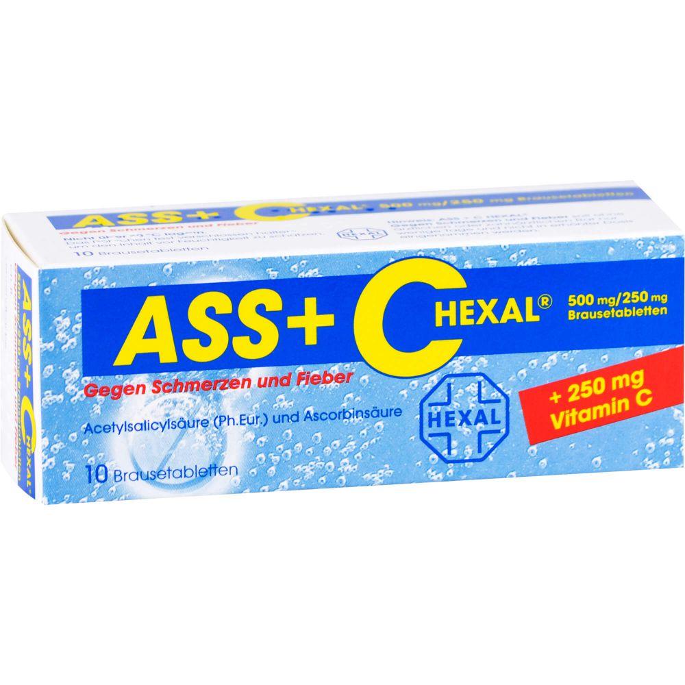 ASS + C HEXAL gegen Schmerzen u.Fieber Brausetabl.