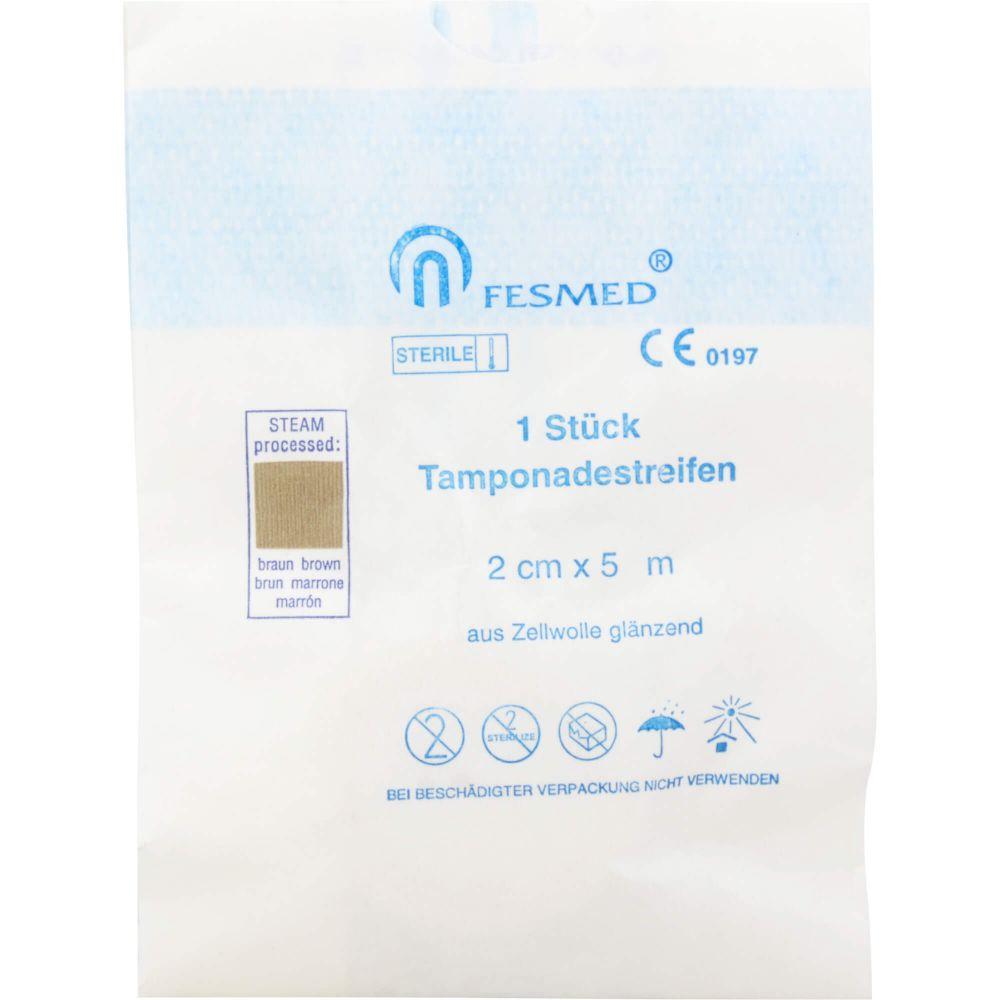 TAMPONADESTREIFEN steril 2 cmx5 m