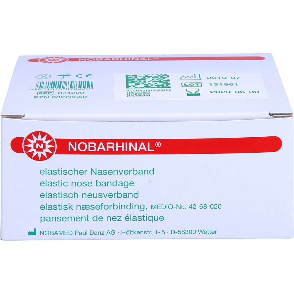 NOBARHINAL Nasenverband mittel