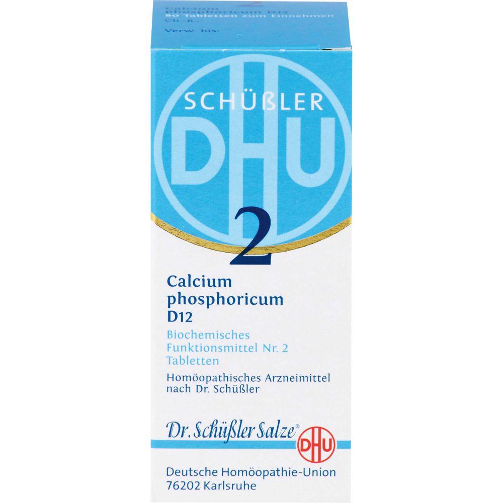 BIOCHEMIE DHU 2 Calcium phosphoricum D 12 Tabl.