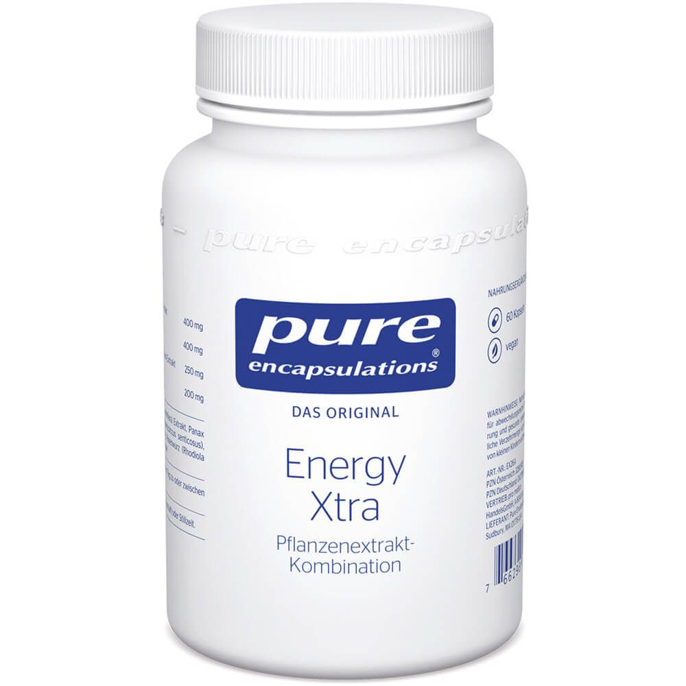 PURE ENCAPSULATIONS Energy Xtra Kapseln