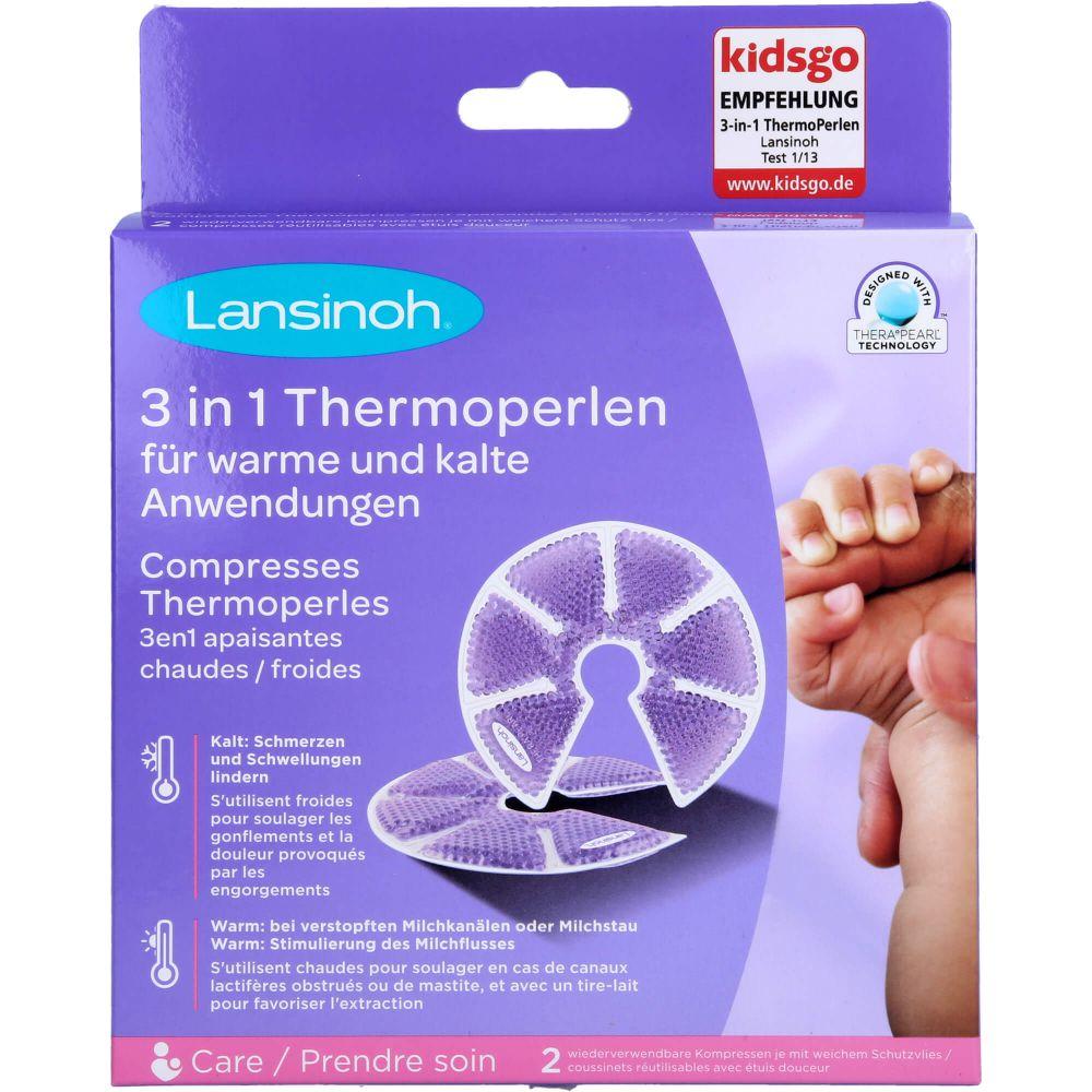 LANSINOH THERA PEARL 3in1 ThermoPerlen-Kissen
