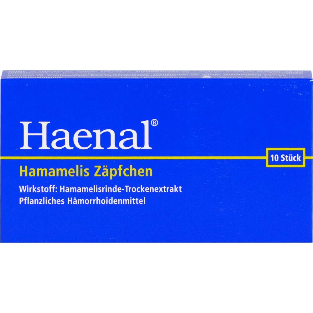 HAENAL Hamamelis Zäpfchen