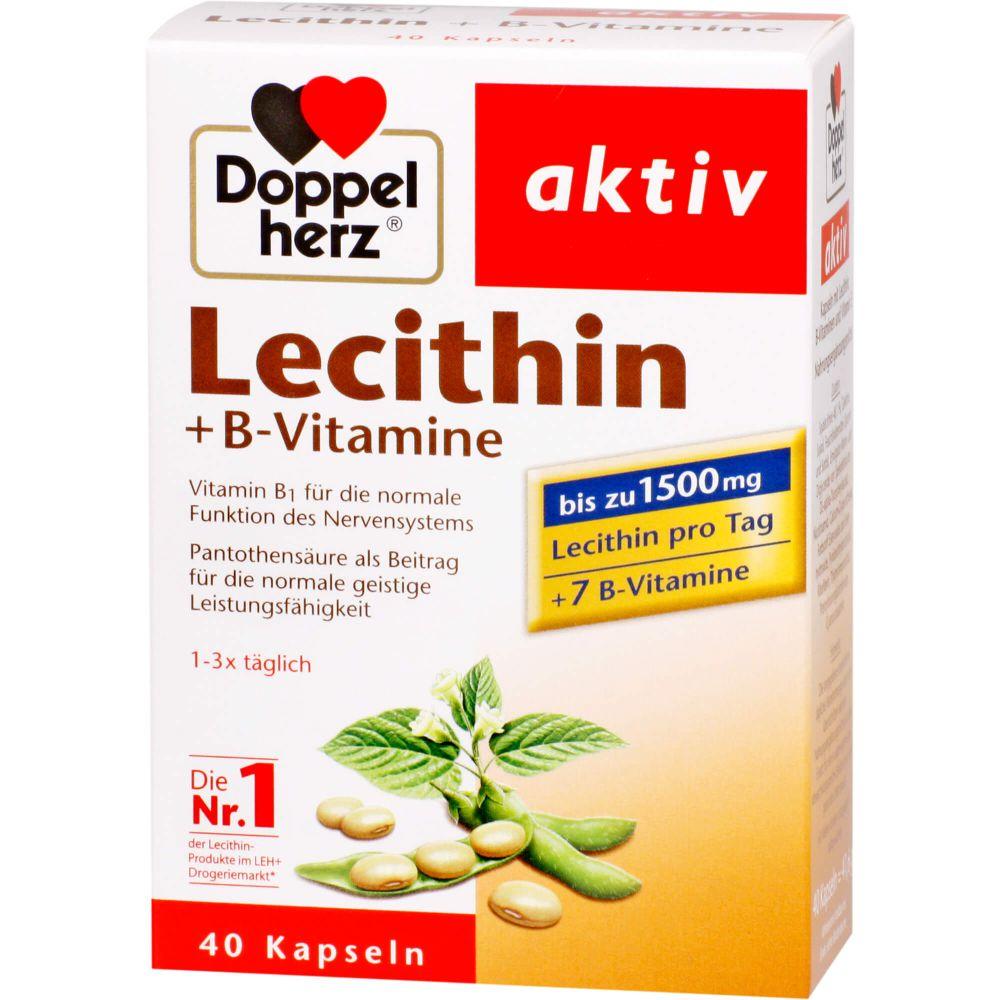 DOPPELHERZ Lecithin+B-Vitamine Kapseln