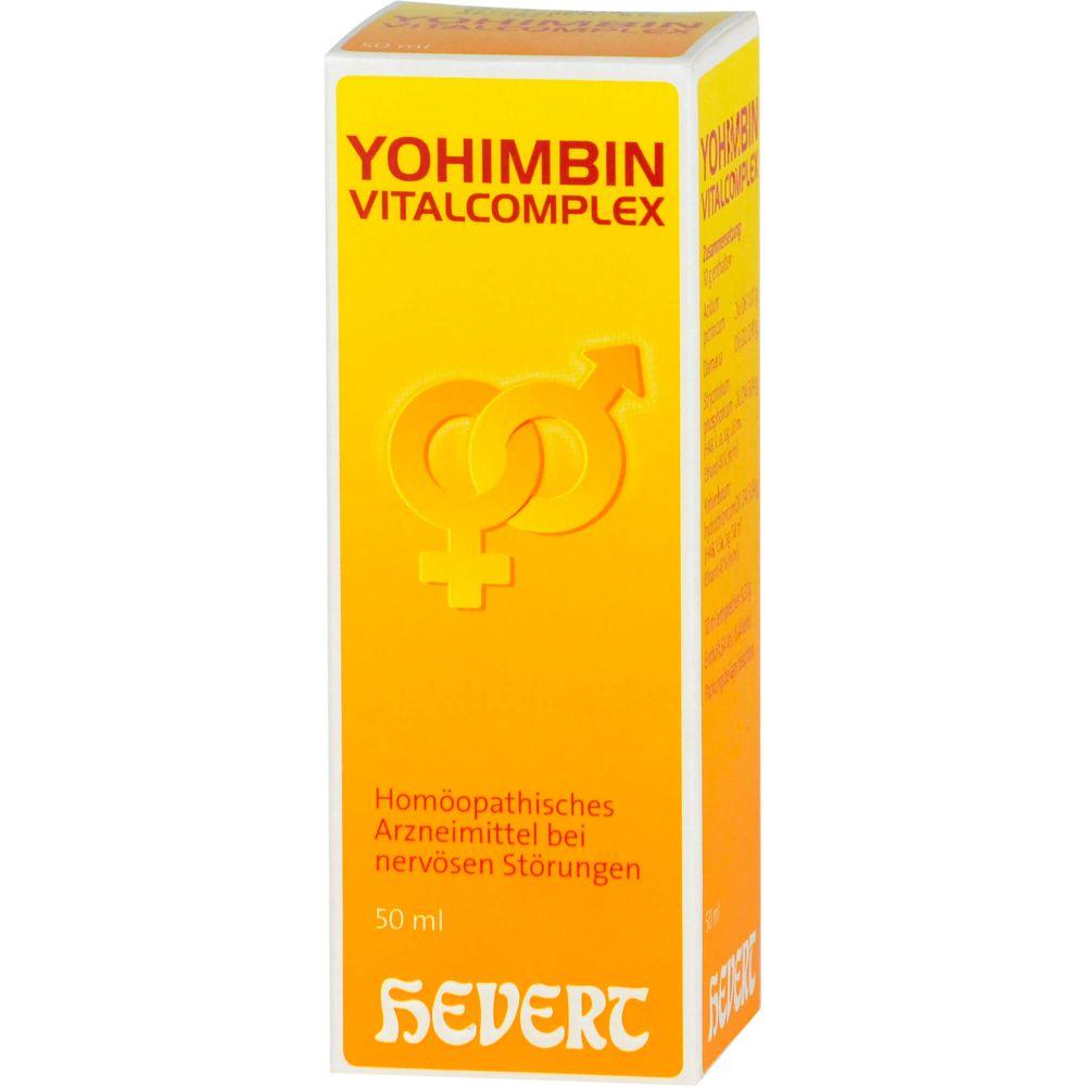 YOHIMBIN Vitalcomplex Hevert Tropfen