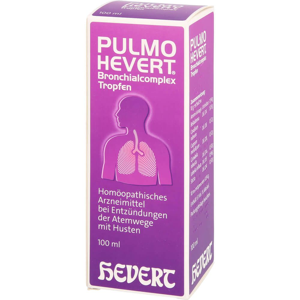 PULMO HEVERT Bronchialcomplex Tropfen