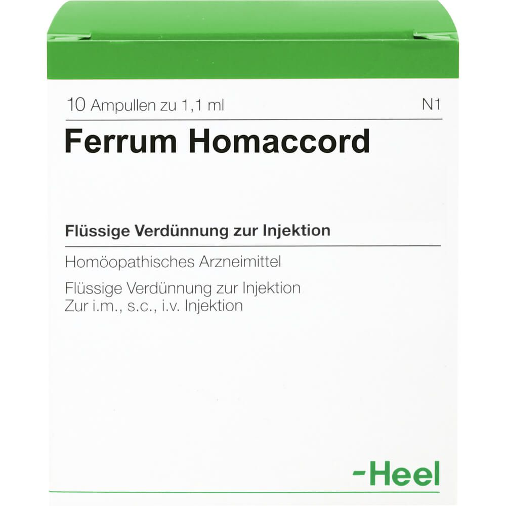 FERRUM HOMACCORD Ampullen