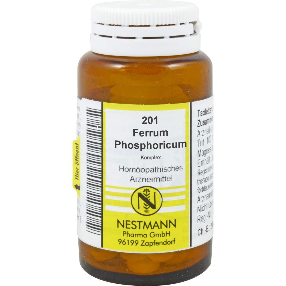 FERRUM PHOSPHORICUM KOMPLEX Nr.201 Tabletten