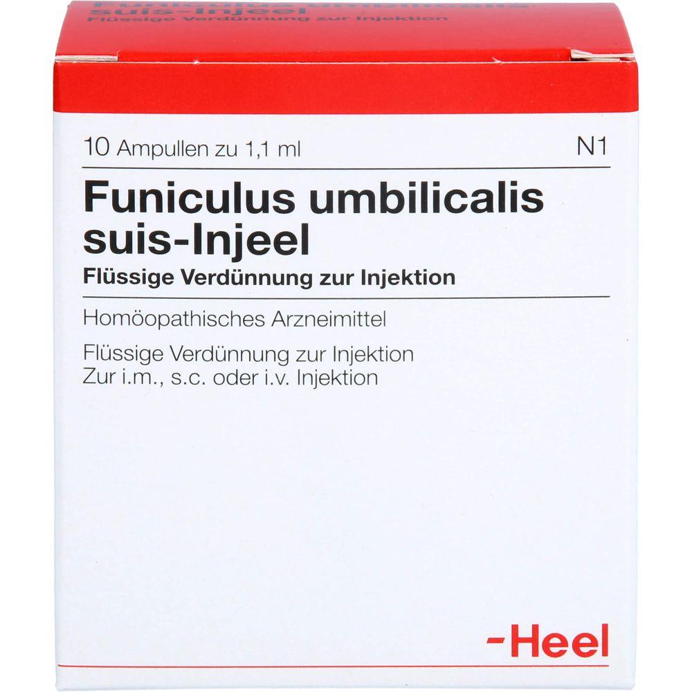 FUNICULUS UMBILICALIS suis Injeel Ampullen