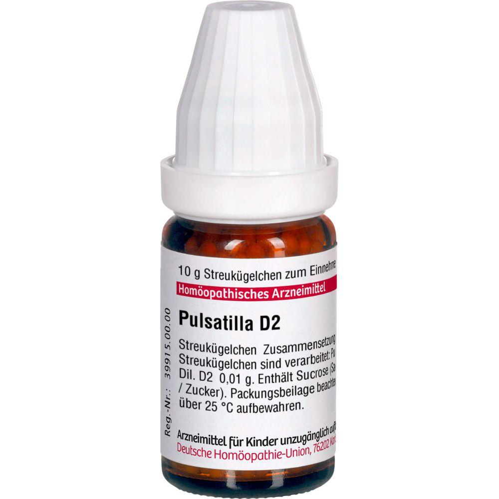 PULSATILLA D 2 Globuli