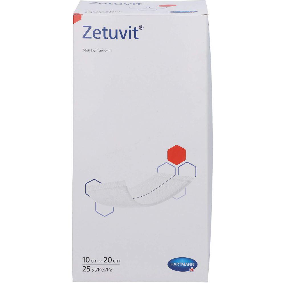 ZETUVIT Saugkompressen steril 10x20 cm CPC