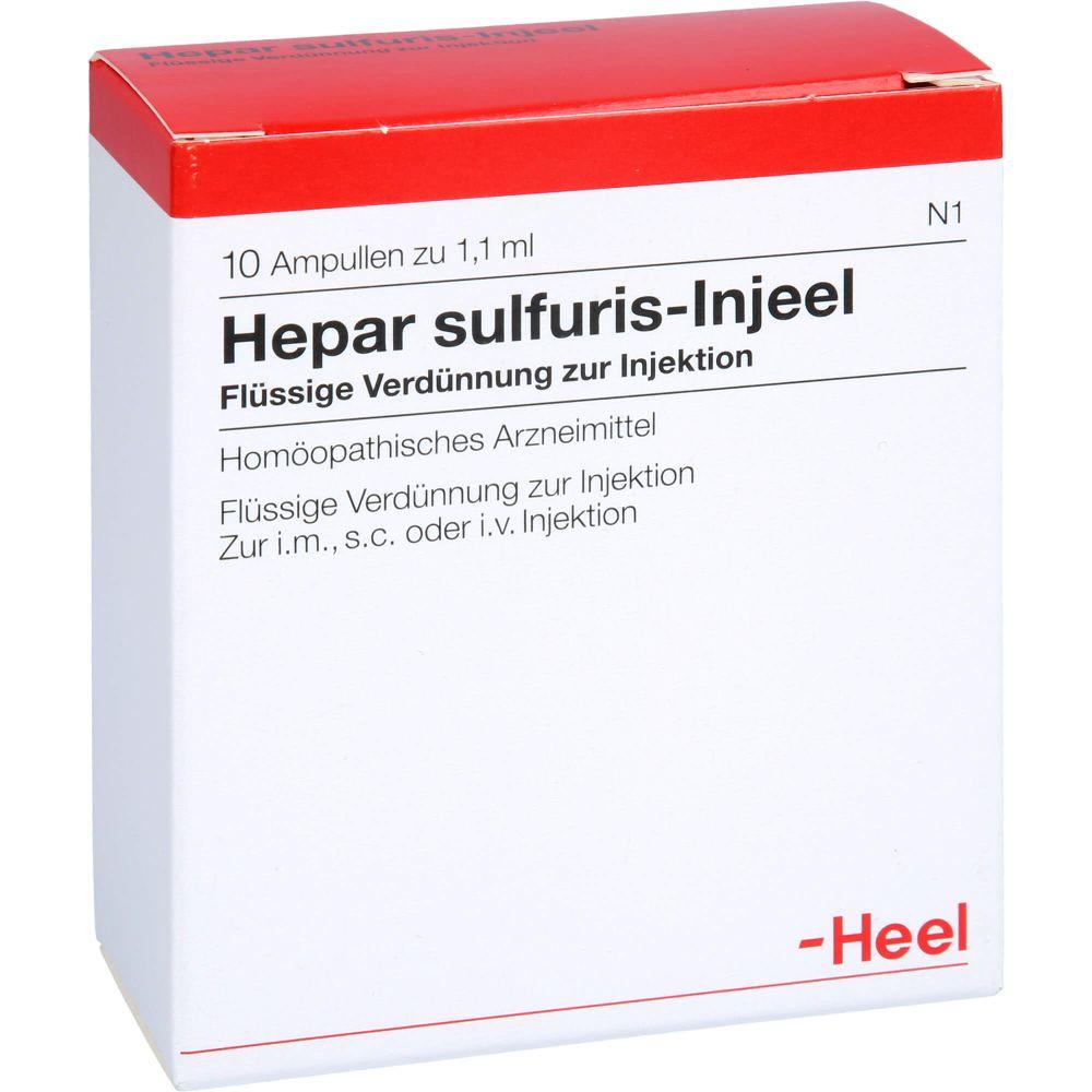 HEPAR SULFURIS INJEEL Ampullen