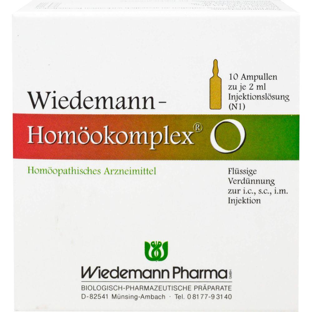 WIEDEMANN Homöokomplex O Ampullen
