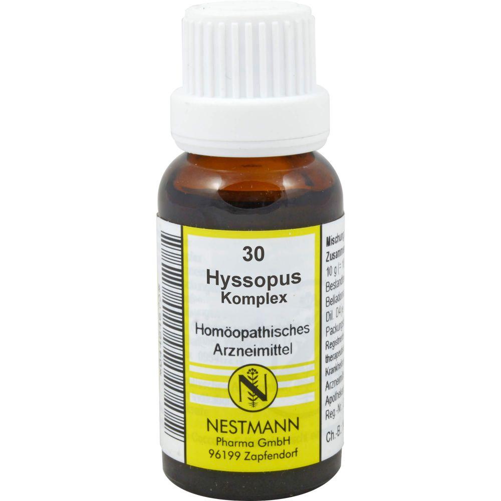 HYSSOPUS KOMPLEX Nr.30 Dilution