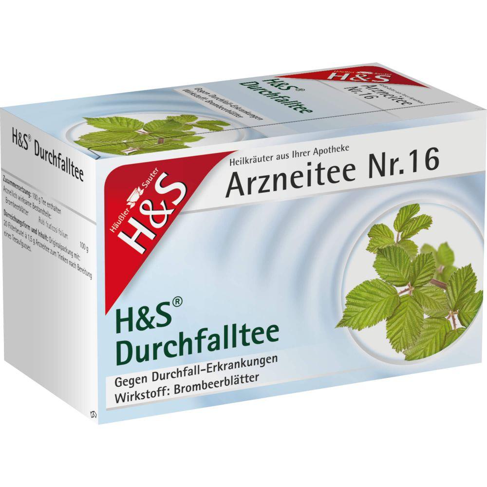 H&S Durchfalltee Filterbeutel