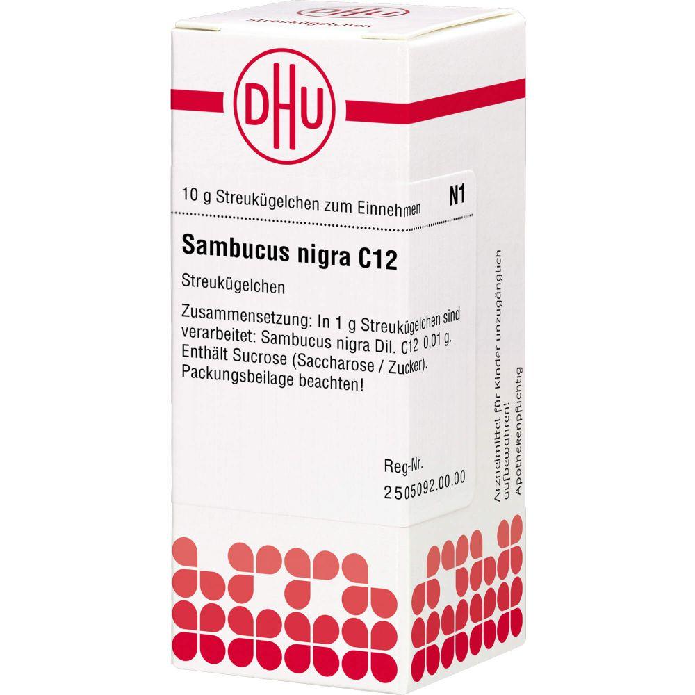 SAMBUCUS NIGRA C 12 Globuli